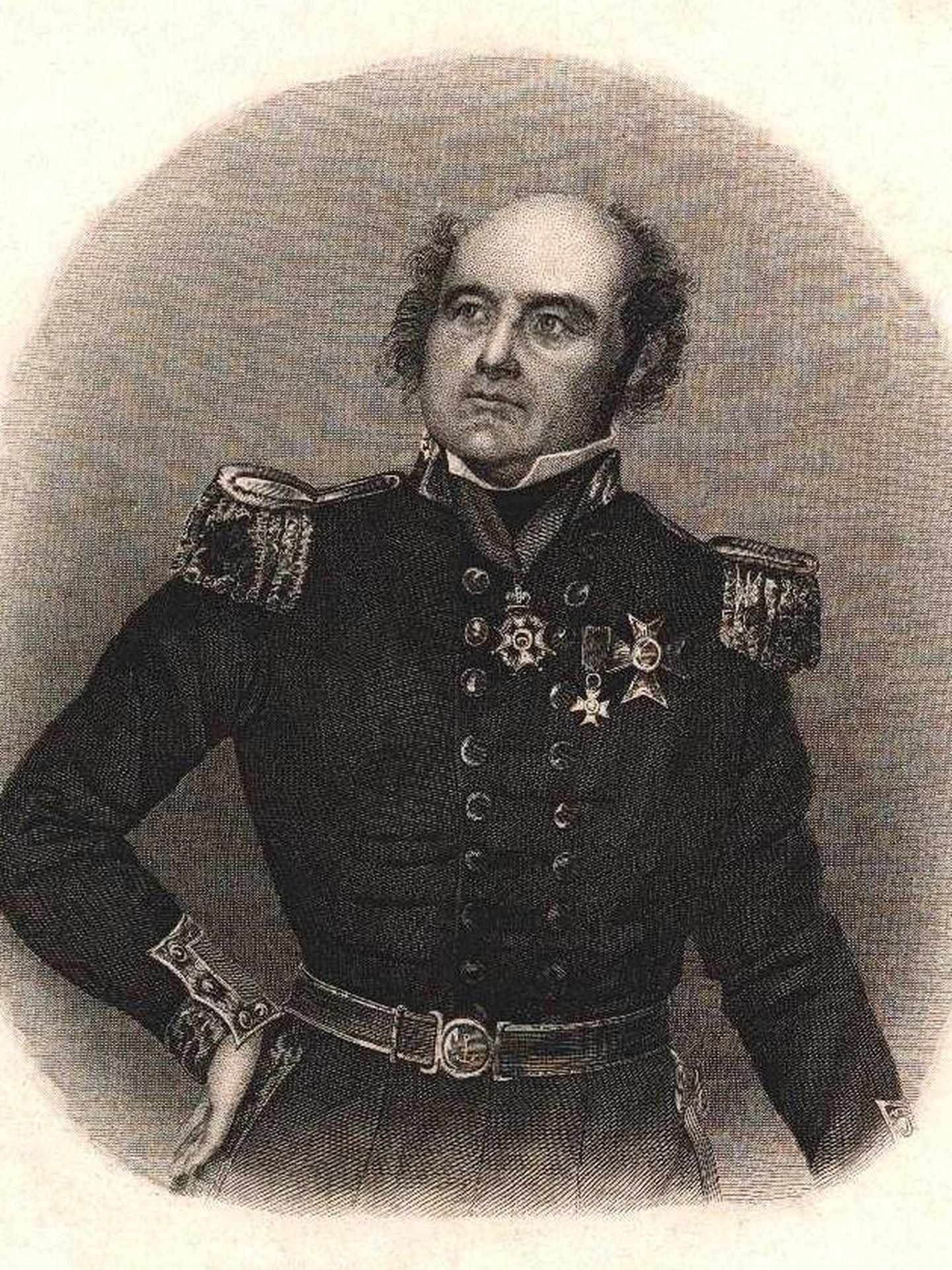El capitán John Franklin. (Wikimedia Commons)