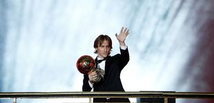Post de Luka Modric gana el Balón de Oro tras diez años de Cristiano y Messi
