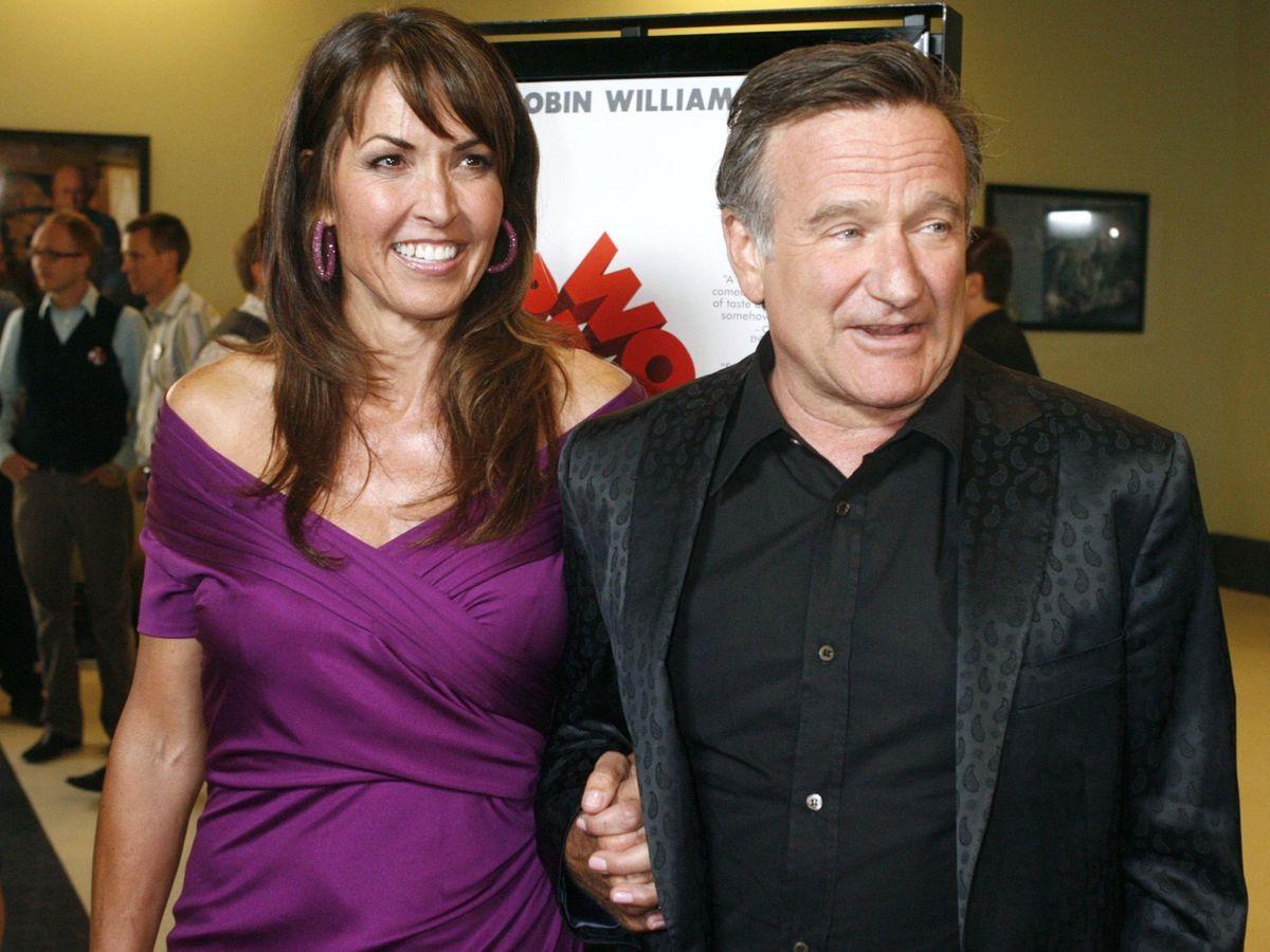 Foto: Robin Williams y su mujer Susan Schneider en una imagen de archivo. (Reuters)