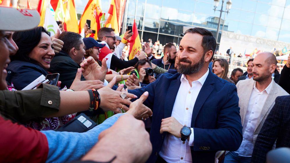 Foto: El líder de Vox Santiago Abascal. (EFE)