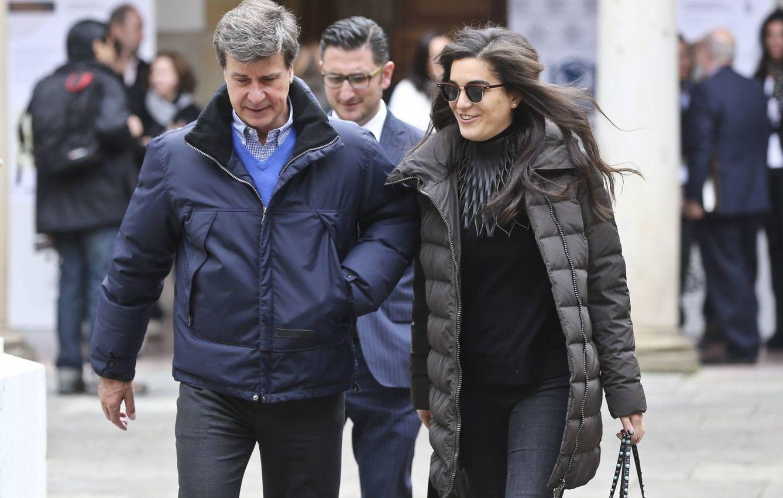 Foto: Cayetano y Bárbara Mirjan en Oviedo (Foto de La Nueva España / Irma Collín)