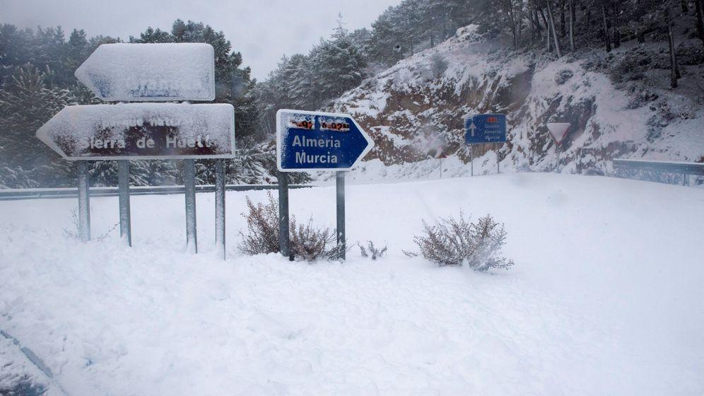 Foto: Temporal de nieve en Granada. (EFE)