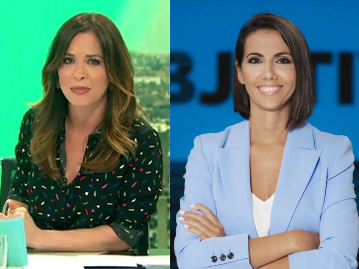 Foto: Mamen Mendizabal y Ana Pastor. (Atresmedia)