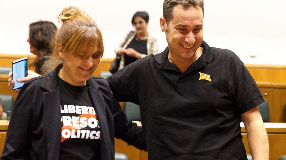 Foto: Iker Casanova, junto a Nerea Kortajarena. (EFE)