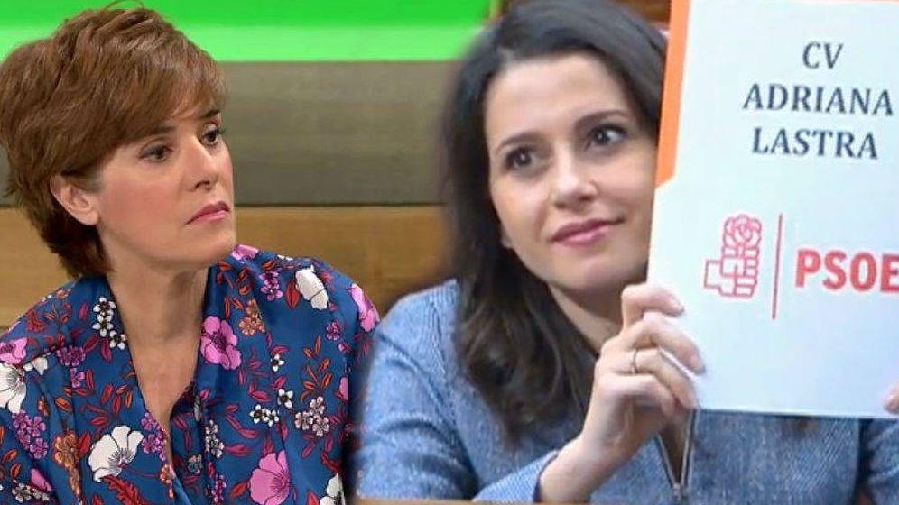 Foto: Anabel Alonso e Inés Arrimadas. (El Confidencial).