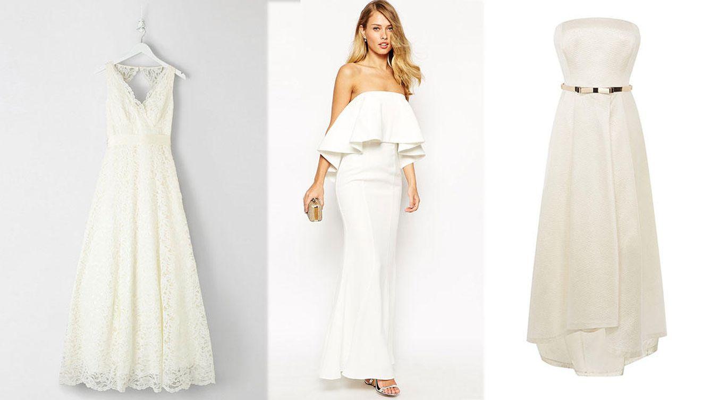 Vestidos de novia sin modelo