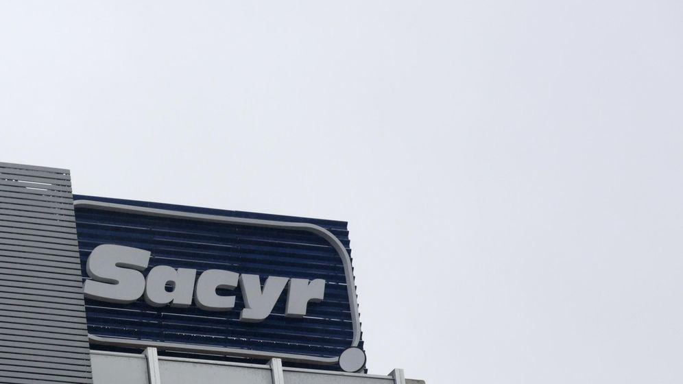 Foto: El logo de Sacyr. (Reuters)