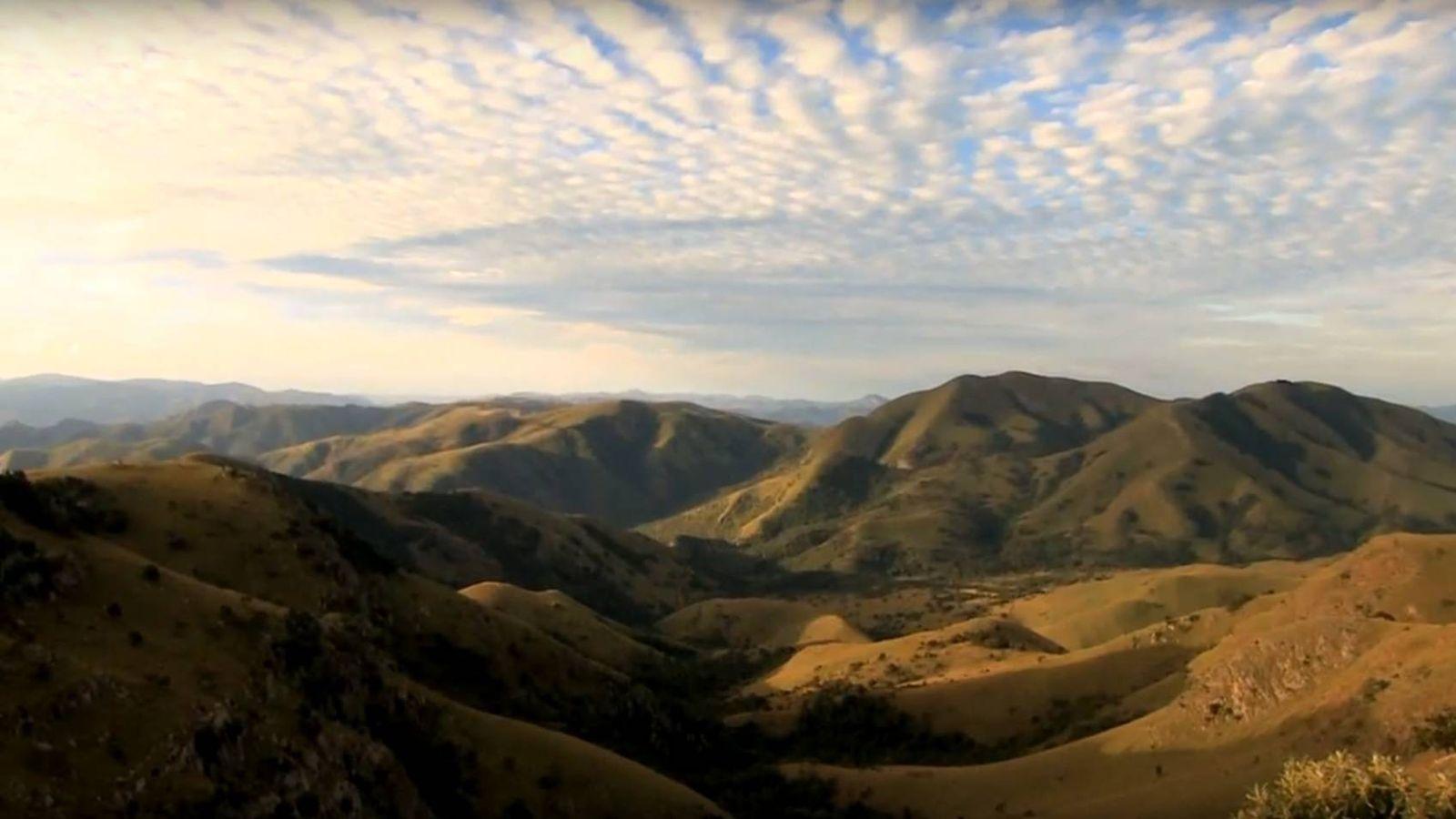 Foto: Captura de pantalla del vídeo promocional del Barberton Makhonjwa Geotrail.