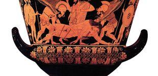 Post de ¿Por qué los griegos pintaban gente roja en vasijas negras?