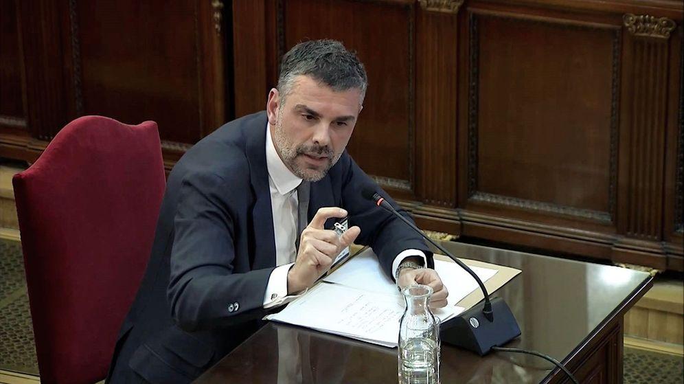 Foto: Santi Vila durante su declaración. (EFE)