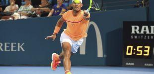 Post de Milos Raonic remonta y se impone a Rafa Nadal en un disputado partido