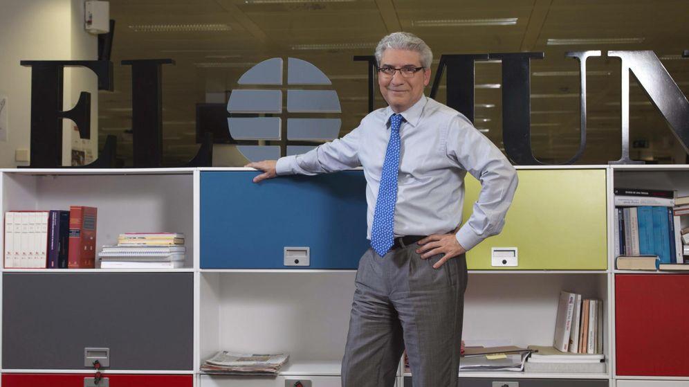 Foto: Casimiro García Abadillo, exdirector del diario 'El Mundo'. (EFE)