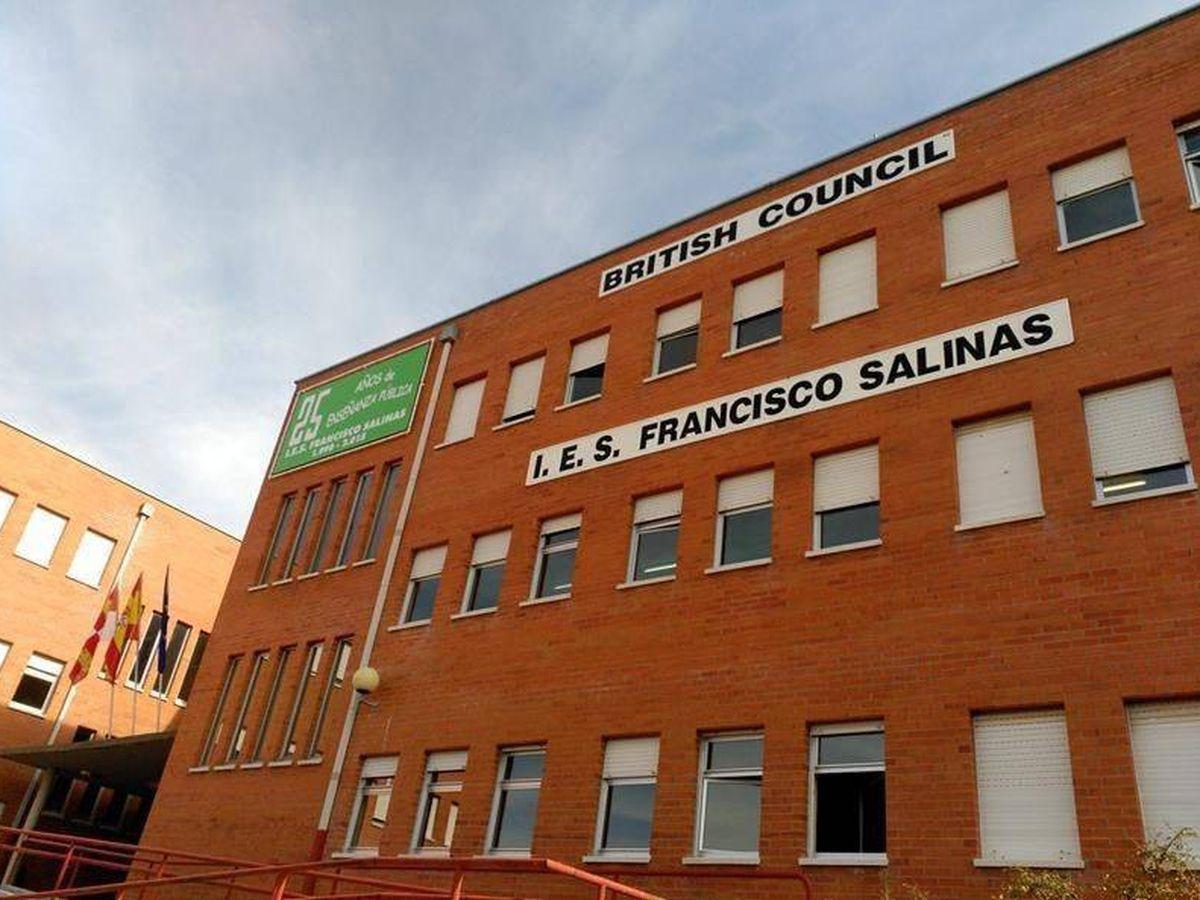 Foto: El IES Francisco Salinas, de Salamanca. (IES Francisco Salinas)