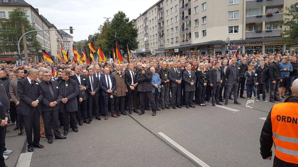 Foto: Imagen de la marcha en Chemnitz (Mathhias Vollmer)