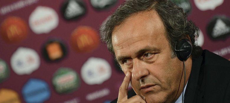 Foto: El francés Michel Platini, presidente de la UEFA.