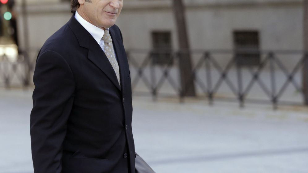 Foto:  Josep Pujol Ferrusola, hijo del expresidente catalán Jordi Pujol (EFE)