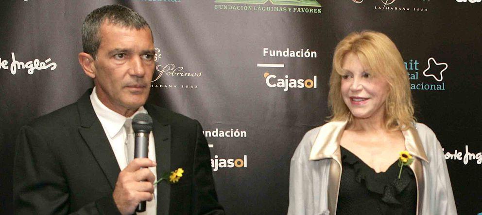 Antonio Banderas, la baronesa Thyssen e Ignacio González, inauguran temporada