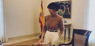 Post de El look con el que Paz Vega se ha estrenado como fichaje de Sánchez en la Moncloa