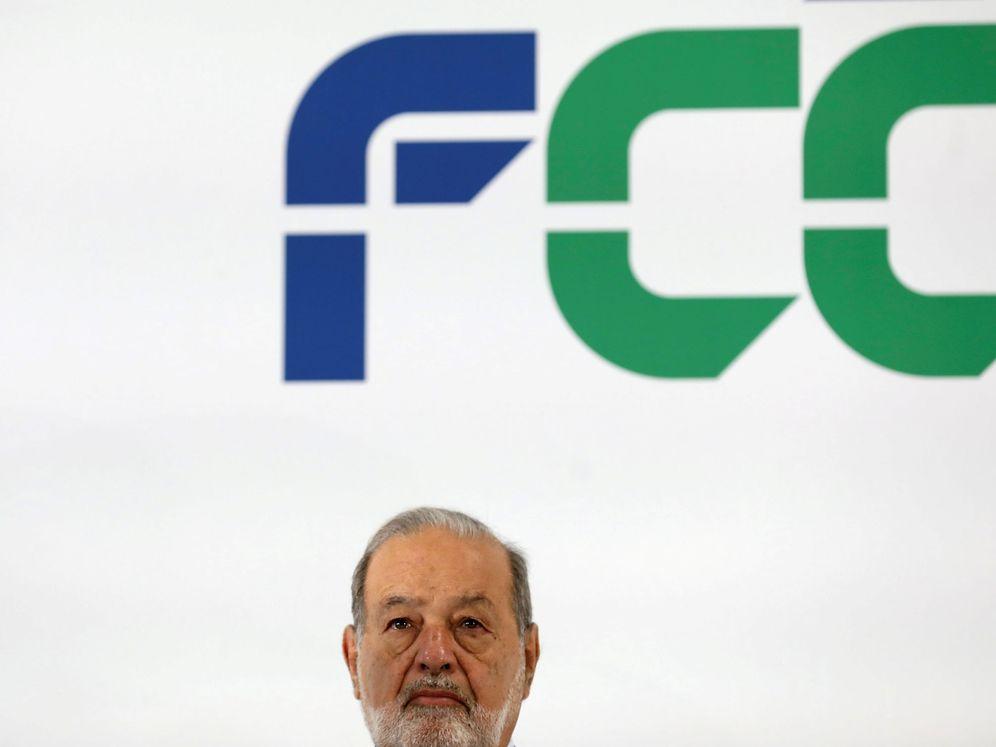 Foto: El millonario Carlos Slim, durante un acto de FCC en Madrid. (Reuters)