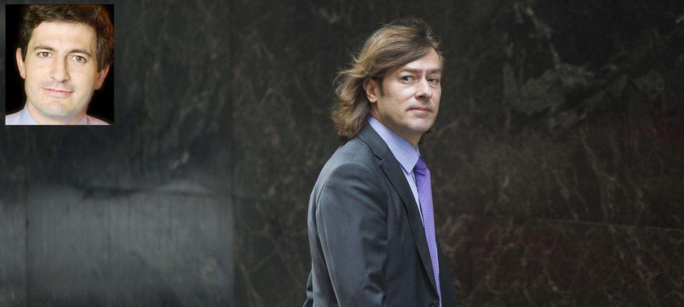 Foto: El juez Santiago Pedraz y Oleguer Pujol.