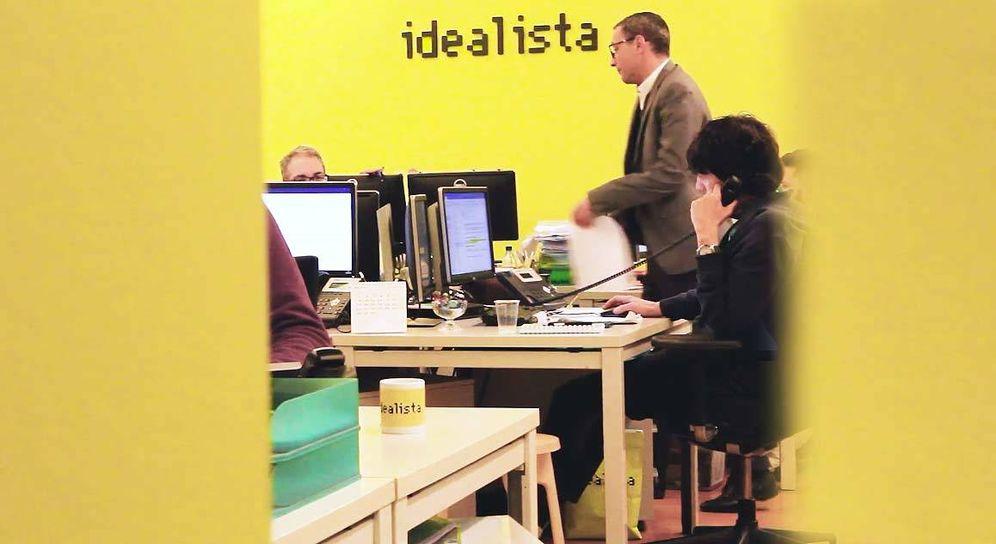 Foto: Oficina de Idealista. (Captura de vídeo)