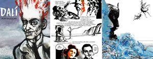 Salvador Dalí da el salto al mundo del cómic