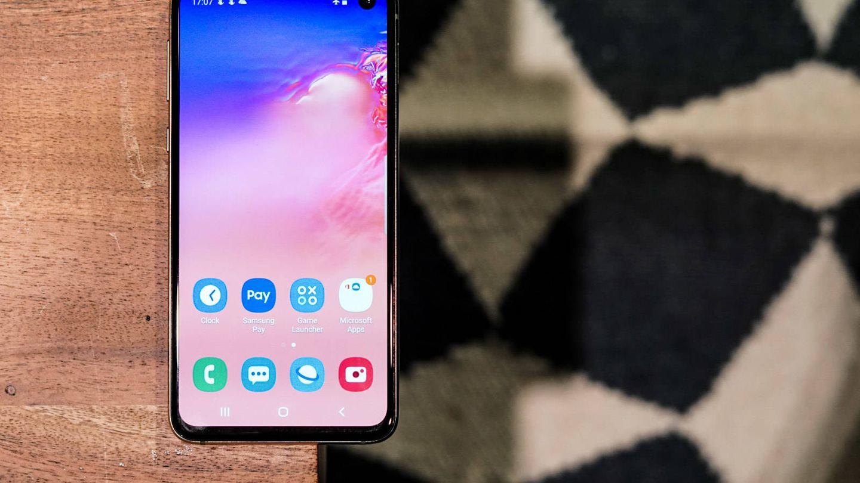 Nuevo Samsung Galaxy S10e. (M.Mcloughlin)