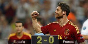 Foto: España maneja a su antojo a Francia y da una lección magistral de cómo se juega al fútbol