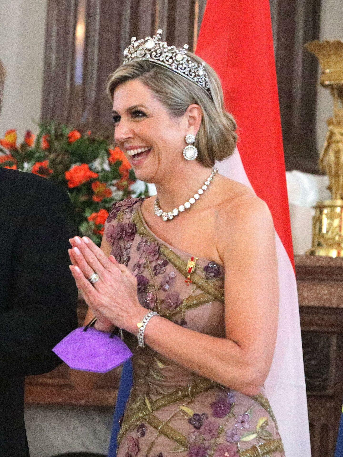 Máxima de Holanda, durante la visita de Estado a Alemania. (EFE)