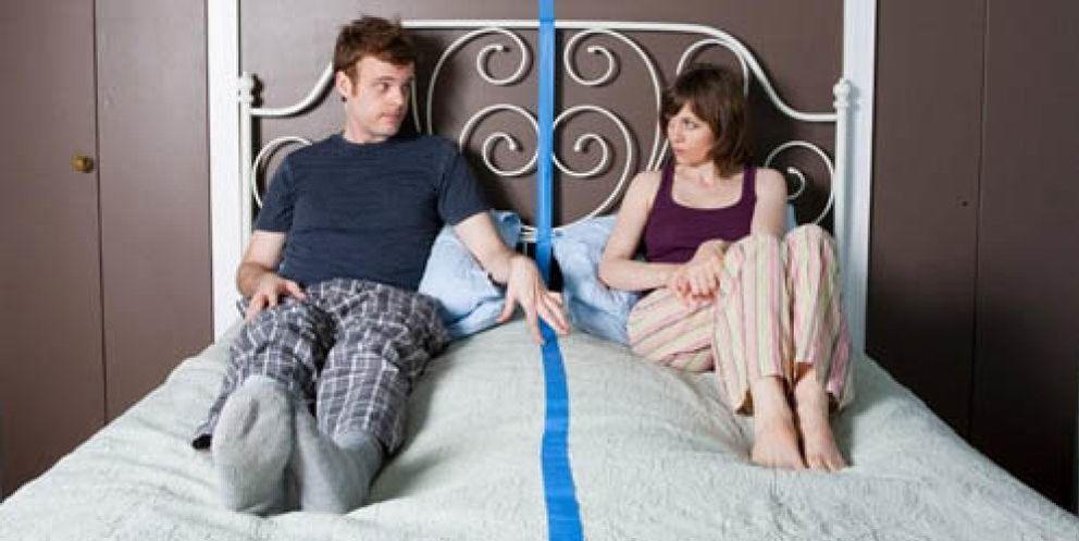 Sexualmente en la cama