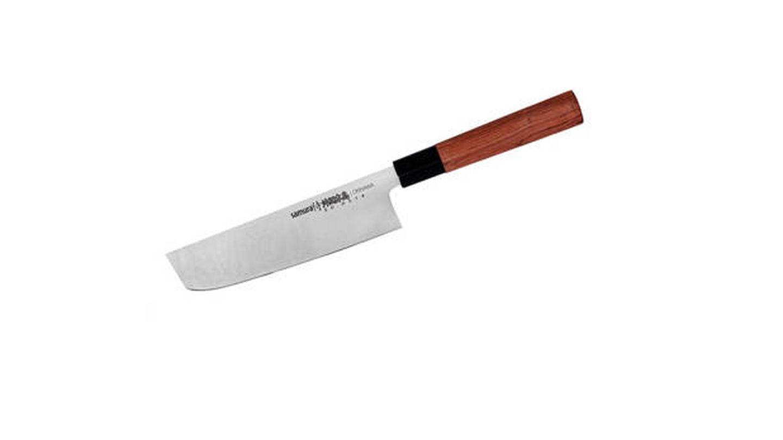 Cuchillo Nakiri Okinawa Samura