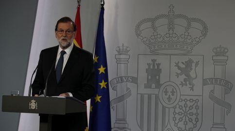 Rajoy se instala en el doble lenguaje para frenar el golpe: diálogo o Código Penal