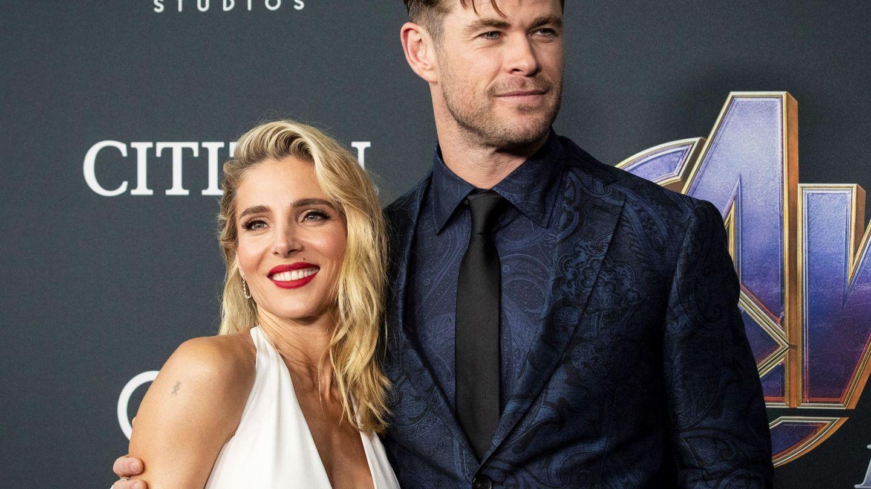 Elsa Pataky y Chris Hemsworth en una imagen de archivo. (EFE)