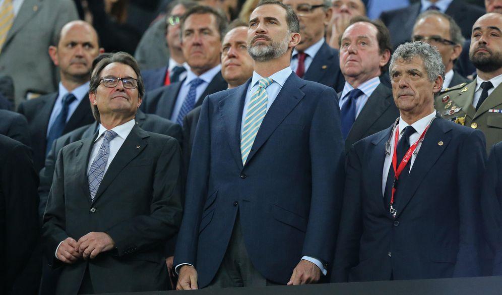 Foto:  Joan Laporta: Si hubiera estado en la grada habría pitado el himno de España