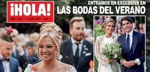 Post de Belén Esteban, los secretos de belleza de su boda: de los ojos ahumados al moño