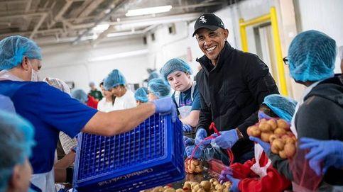 Obama se arremanga para preparar la cena de Acción de Gracias de voluntario