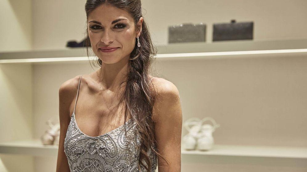 Foto: Linda Morselli en la presentación de la nueva tienda de Rosa Clará. (Foto: D.R.)