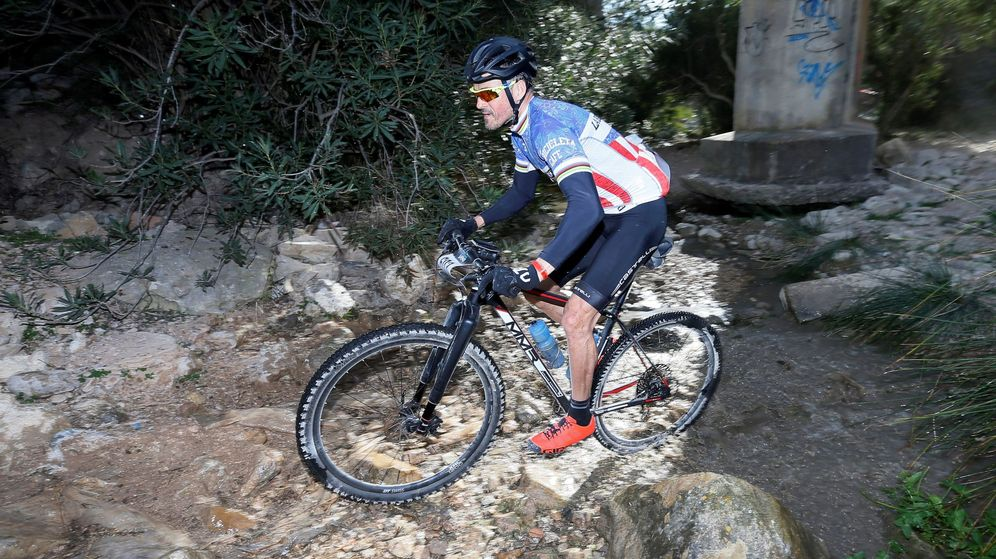 Foto: Luis Enrique es un apasionado del ciclismo. (EFE)