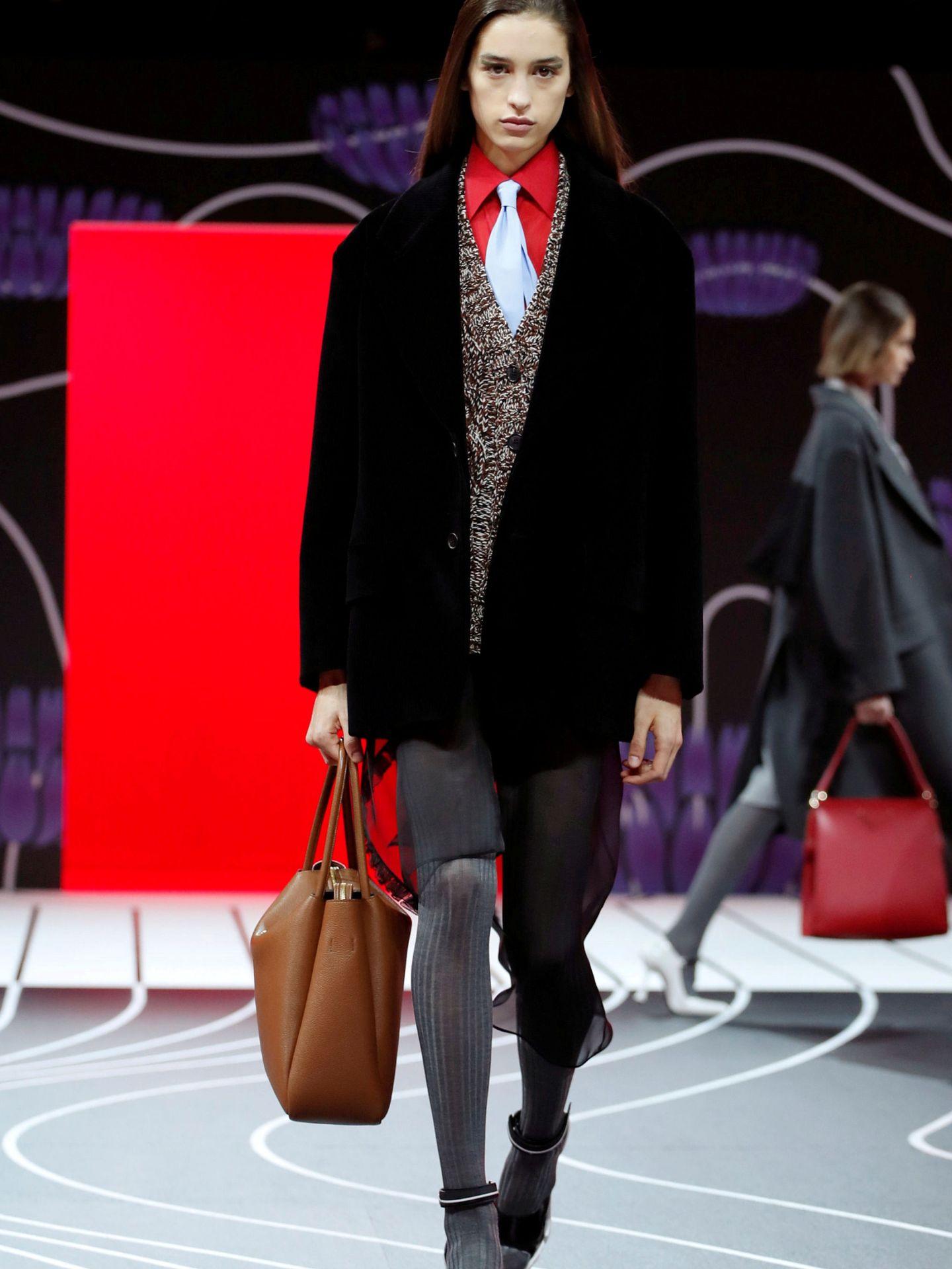 Desfile de Prada en la última Milan Fashion Week. (Reuters)