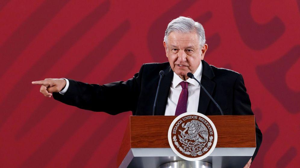 Foto: López Obrador. (EFE)