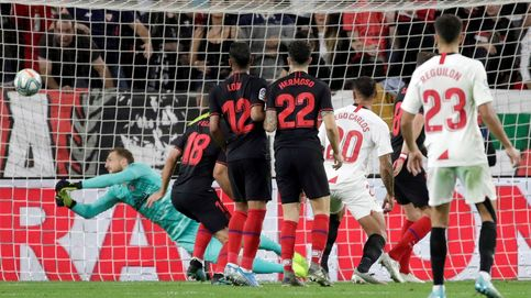 La 'cantada' de Oblak y el patadón de Diego Costa (no sale de la crisis del gol)