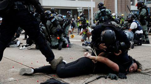 Hong Kong vive una de las jornadas más violentas desde que comenzaran las protestas