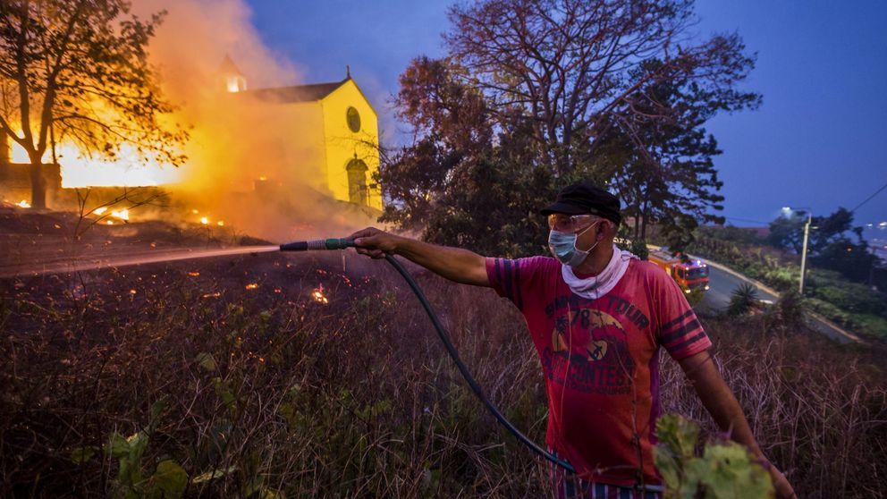 ¿Quién gana con los incendios en Portugal?