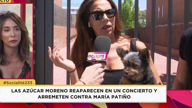 Las Azúcar Moreno arremeten contra María Patiño: ¡Te has pasado tres pueblos!