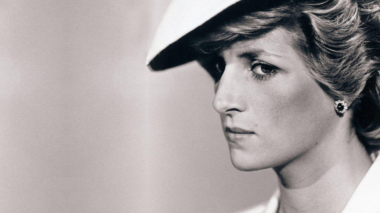 Detalle de la máscara de pestañas de Diana de Gales. (Reuters)