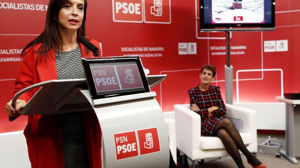 Foto: La presidenta de la Fundación Pablo Iglesias, Beatriz Corredor. (EFE)