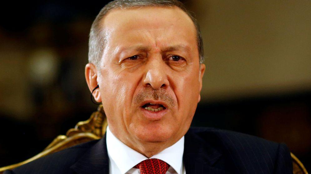 Foto: El presidente turco Tayyip Erdogan en el palacio presidencial. (Reuters)