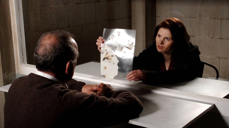 Isabel Naveira en una imagen de la serie de TVGA 'Serramoura'.