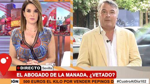 Enfrentamiento entre Carme Chaparro y el abogado de La Manada en Cuatro