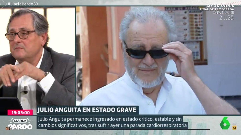 Marhuenda opinando sobre Anguita. ('Liarla Pardo').
